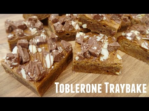 How To Bake Toblerone Traybake