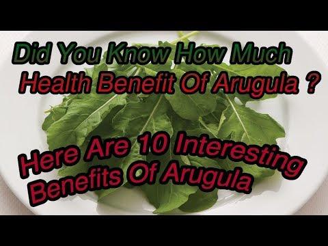 10 Interesting Benefits Of Arugula