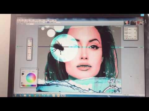 At arbejde med lag i paint.net - Digital Collage