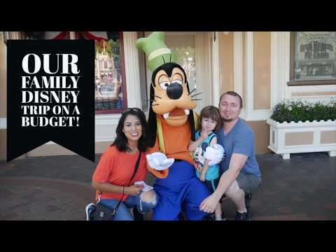 Our DisneyLand Family Trip on a $1200 Budget | Less Than $240 A Day Budget | 2017 Disneyland Hack