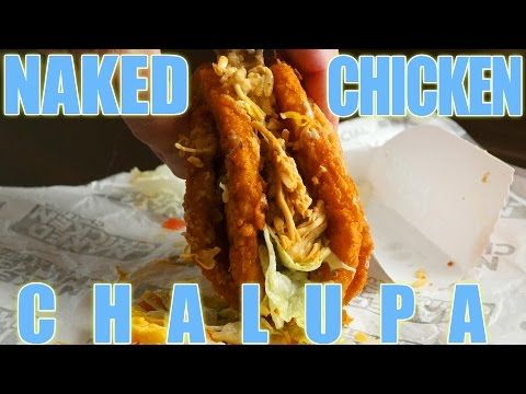 Taco Bell's Naked Chicken Chalupa HACKED