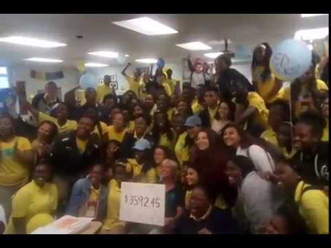 Dollar for a Dream Day - Student Sponsors Raise Over $3000 in One Day!