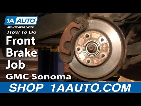 How To Do a Front Brake Job GMC S15 Sonoma Chevy S10 Pickup Blazer 1AAuto.com