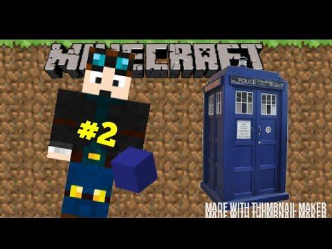 JoshTDP | how to build a TARDIS in MCPE | #2