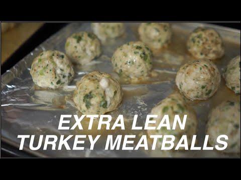 MEAL PREP | Extra Lean Turkey Meatballs