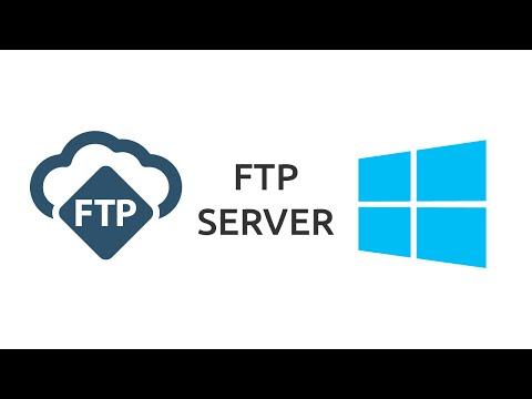 How to setup a FTP Server on Windows