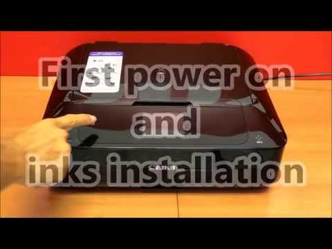 Pixma MG7700 series (part2) - Wifi setup from power on