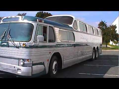Fully restored 1954 Greyhound Scenicruiser Bus PD4501-083