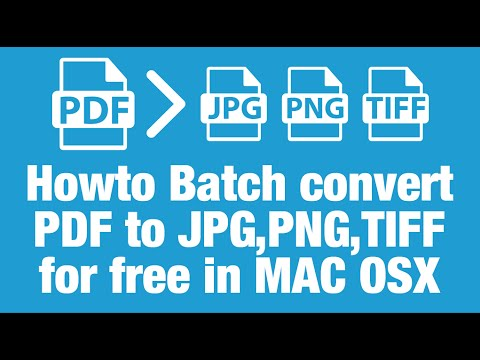 How to convert multi page pdf to jpg mac
