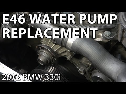 BMW E46 Water Pump Replacement