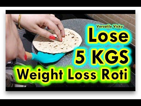 Super Weight Loss Roti 3 Lose 5KG in 15 Days Indian Meal Plan / Diet Plan | Peanut Roti Hindi