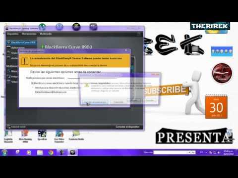 Como Arreglar Problema De Blackberry Software 513