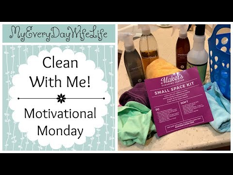Clean With Me! || Motivational Monday