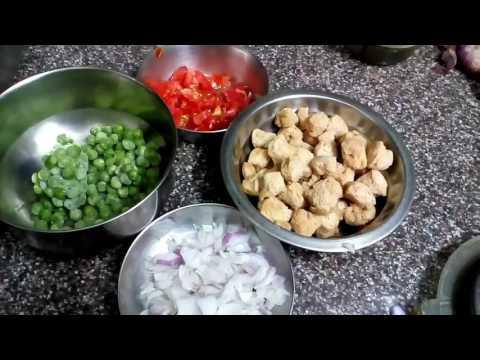 Chatpati Soyabean ki sabzi