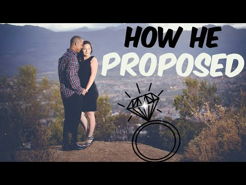 HOW HE PROPOSED || SOUTH AFRICAN YOUTUBER