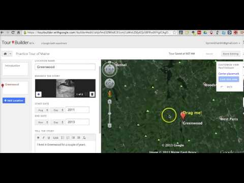 Google Earth Tour Builder How To