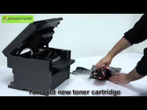 Canon MF 4410 Toner Cartridge Replacement - user guide (7232A)