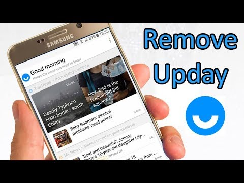 How to disable Upday on Galaxy S6/S7/Note5