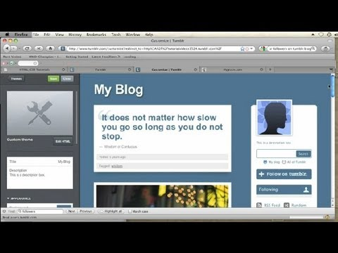How to Put Music in Tumblr Without People Seeing the Widget : CSS Tips & More