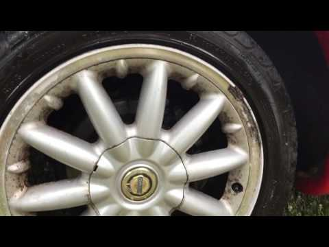 Clean your wheels (even spokes on your motorcycle) without scrubbing!