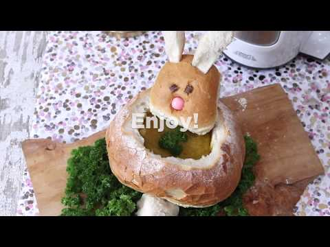 Make your own Easter Bunny Bread Bowl | ao.com