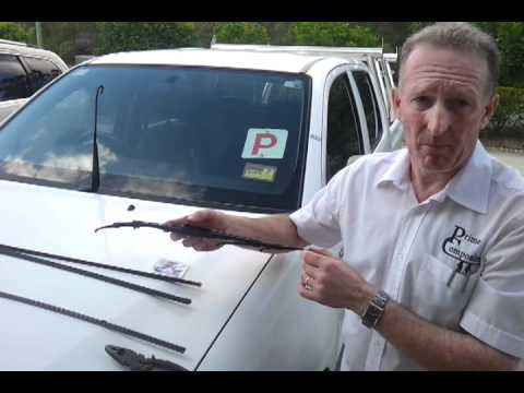 How to replace Windscreen Wiper Refills for Blades