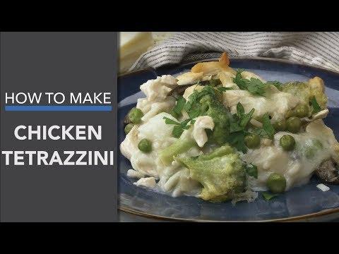 Chicken Tetrazzini Recipe: A Healthy Casserole