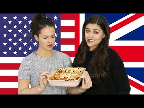 BRITISH GIRLS TRY POPULAR THANKSGIVING FOOD! SWEET POTATO AND MARSHMALLOW CASSEROLE!