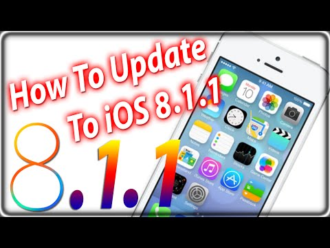 How To Update and Install iOS 8.1.1 iPhone, iPad, iPod Touch Via The Air and iTunes