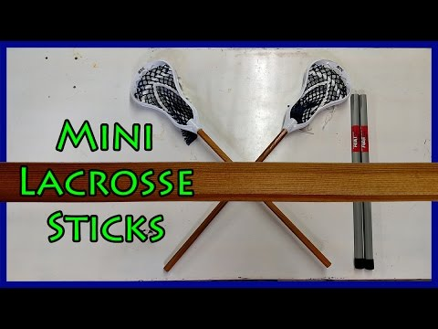 Mini Lacrosse Sticks | Wood Replacement Handles