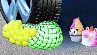 Download Crushing Crunchy and Soft Things by Car! Squishy, Floral Foam, Stress Balls & More Video