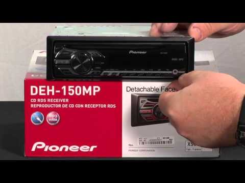 What's in the Box- DEH-150MP In-dash CD Receiver