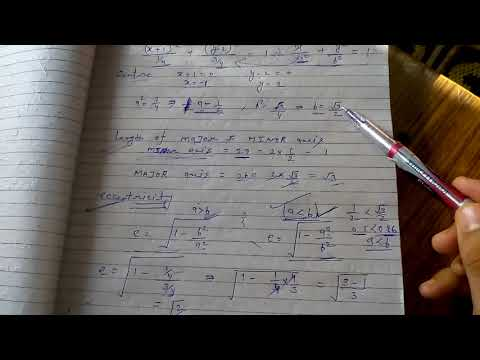 General solution of conic section 2