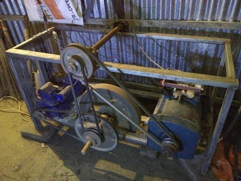 Free energy generator with Flywheel energy storage/H95Tv