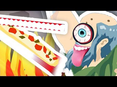 GRANDAD'S HAPPY WHEELS PIZZA DELIVERY!!!