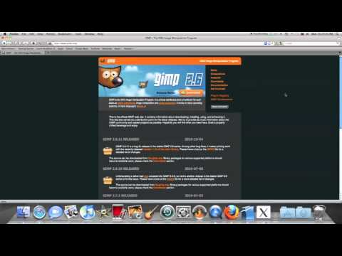 Where to download the photo editing software GIMP