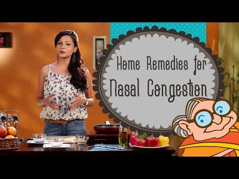 Nasal Congestion | Stuffy Nose - Home Remedies for Stuffy Blocked Nose, Nasal Congestion & Sinusitis