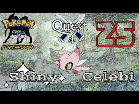 Pokémon Crystal Playthrough - Hunt for the Pink Onion! #25