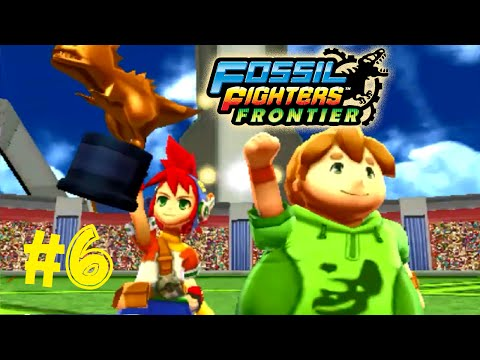 Fossil Fighters: Frontier Nintendo 3DS WARDEN TEST! Walkthrough/Gameplay Part 6 English!