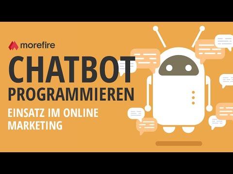Konkreter Einsatz von Chatbots im Online Marketing | morefire