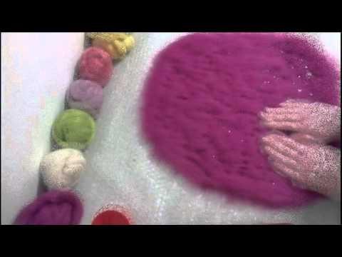wool felting bag # for girl # валяная сумочка для девочки