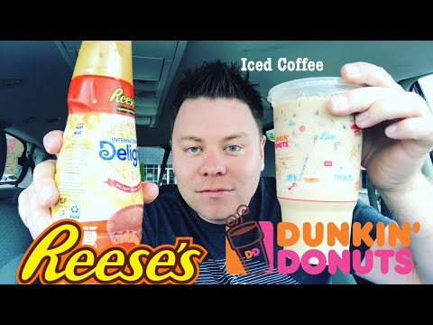 DUNKIN DONUTS REESE'S PEANUT BUTTER ICED COFFEE HOW TO MAKE YOUR OWN