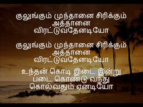 Karaoke Nilavukku En Mel  - Tamil Karaoke
