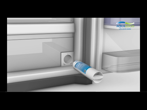How To: Replace Refrigerator Water Filter HAF-CIN On Samsung Side By Side Using Filter AL-020B