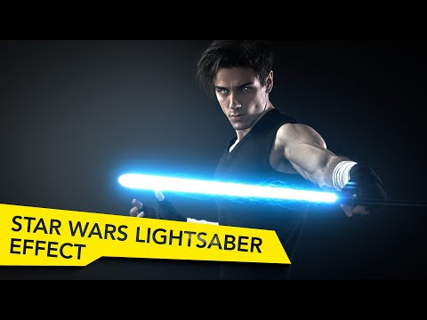 After Effects Ultimate Lightsaber Tutorial - Star Wars VFX Academy # 6