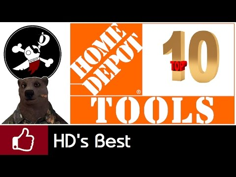 Top 10 Tools from Home Depot