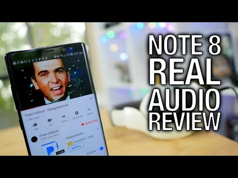 Samsung Galaxy Note 8 Real Audio Review: Bigger Phone, Bigger Sound?
