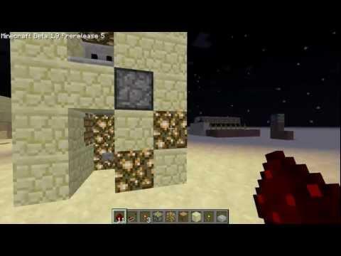 Minecraft Tutorial - Piston Elevator ( Etho's )