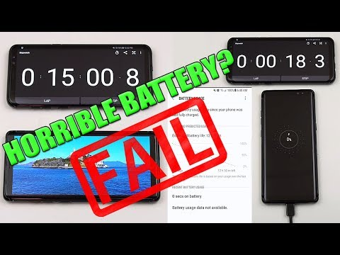 Samsung Note 8 Battery Life Test Review! (Drainage|Charging|Real World Usage) [4K]