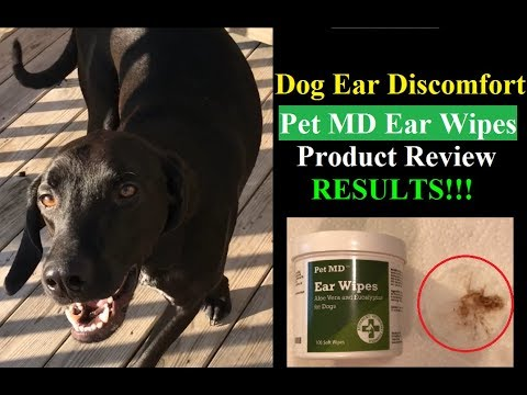 Pet MD Dog Ear Cleaner Wipes - Amazon Product Review